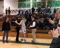 2799 VHS Cheer and Basketball Seniors Night 2010