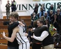 2804 VHS Cheer and Basketball Seniors Night 2010