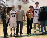 2808 VHS Cheer and Basketball Seniors Night 2010