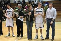 2817 VHS Cheer and Basketball Seniors Night 2010