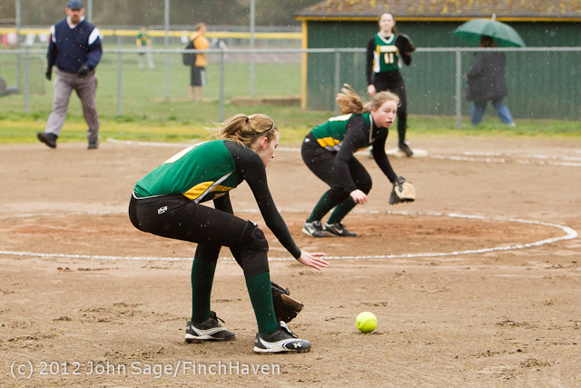 1436 VHS Softball v Orting 032712