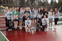 8845 VHS Girls Tennis spring 2011
