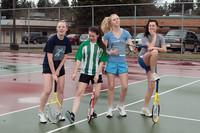 8877 VHS Girls Tennis spring 2011