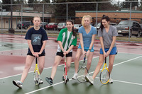 8878 VHS Girls Tennis spring 2011