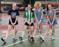 8880 VHS Girls Tennis spring 2011
