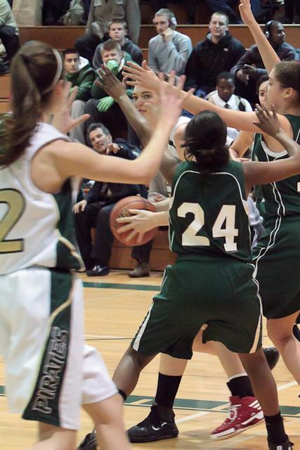 1314 Girls Varsity Basketball v ChasWright 020411