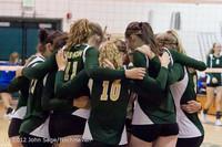 20901 Varsity Volleyball v Casc-Chr 091212