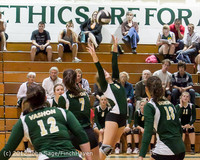 21111 Varsity Volleyball v Casc-Chr 091212
