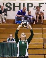 21152 Varsity Volleyball v Casc-Chr 091212