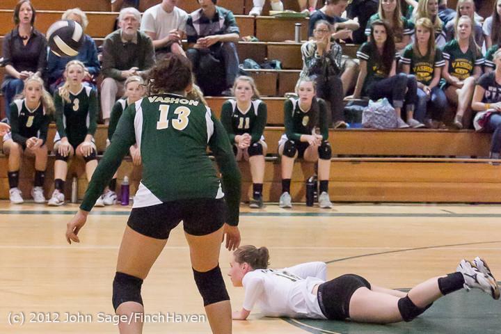 21167 Varsity Volleyball v Casc-Chr 091212