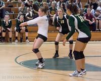 21213 Varsity Volleyball v Casc-Chr 091212