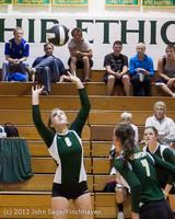 21218 Varsity Volleyball v Casc-Chr 091212