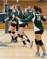 21286 Varsity Volleyball v Casc-Chr 091212