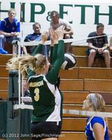 21756 Varsity Volleyball v Casc-Chr 091212