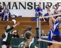 21861 Varsity Volleyball v Casc-Chr 091212