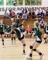 22192 Varsity Volleyball v Casc-Chr 091212