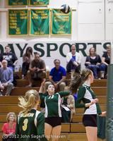 22218 Varsity Volleyball v Casc-Chr 091212