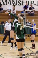 22316 Varsity Volleyball v Casc-Chr 091212