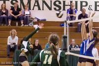 22609 Varsity Volleyball v Casc-Chr 091212