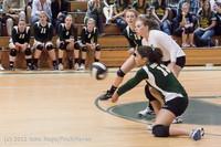23011 Varsity Volleyball v Casc-Chr 091212