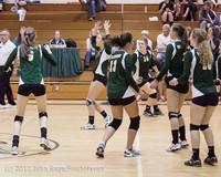 23042 Varsity Volleyball v Casc-Chr 091212