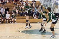 23055 Varsity Volleyball v Casc-Chr 091212
