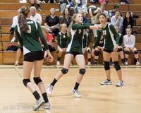 23110 Varsity Volleyball v Casc-Chr 091212