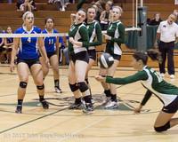 23250 Varsity Volleyball v Casc-Chr 091212