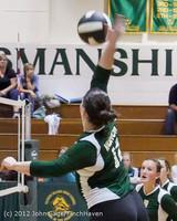 23307 Varsity Volleyball v Casc-Chr 091212