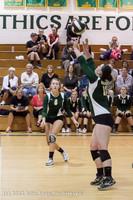 23401 Varsity Volleyball v Casc-Chr 091212