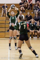 23405 Varsity Volleyball v Casc-Chr 091212