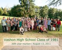 3202-l VHS Class of 1981 30th reunion 081311