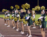 20173 VHS Fall Cheer at Football v South-Whidbey 110212