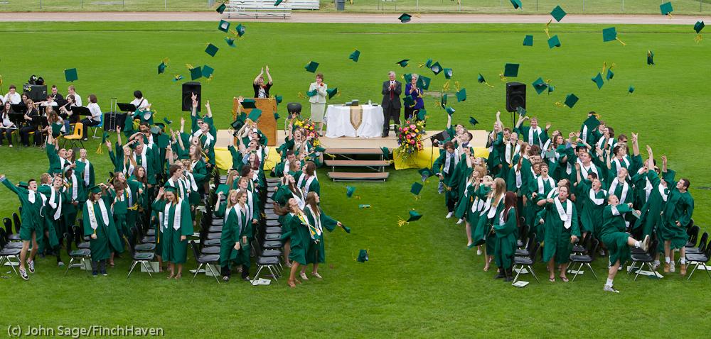 Vashon High School graduation 2011