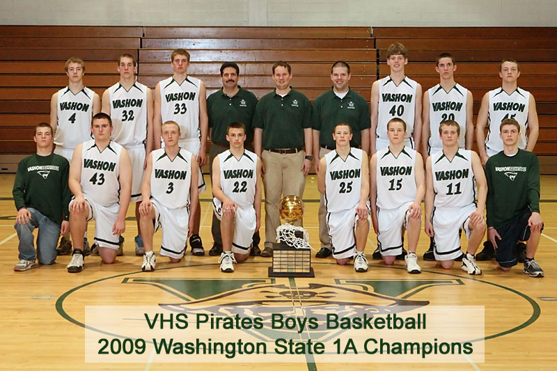 VHS Boys Basketball Champions 2009