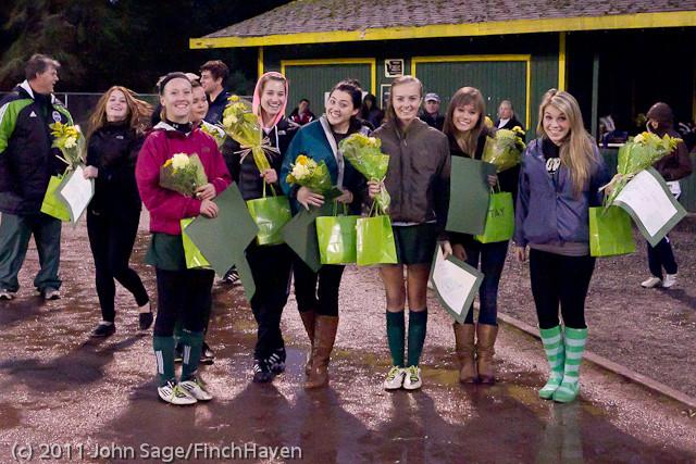 7875 VHS Girls Soccer Seniors Night 2011 101111
