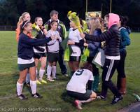 7903 VHS Girls Soccer Seniors Night 2011 101111
