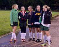 7926 VHS Girls Soccer Seniors Night 2011 101111