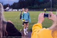 7934 VHS Girls Soccer Seniors Night 2011 101111