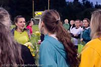 7938 VHS Girls Soccer Seniors Night 2011 101111