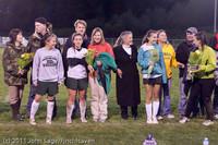 7971 VHS Girls Soccer Seniors Night 2011 101111