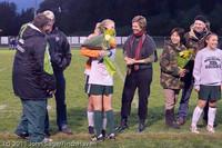 7991 VHS Girls Soccer Seniors Night 2011 101111