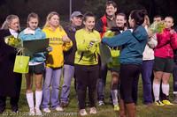 8008 VHS Girls Soccer Seniors Night 2011 101111