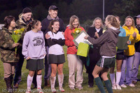 8012 VHS Girls Soccer Seniors Night 2011 101111