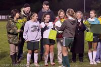 8014 VHS Girls Soccer Seniors Night 2011 101111