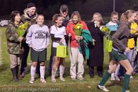 8019 VHS Girls Soccer Seniors Night 2011 101111