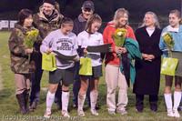 8054 VHS Girls Soccer Seniors Night 2011 101111