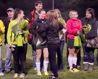 8058 VHS Girls Soccer Seniors Night 2011 101111