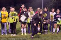 8063 VHS Girls Soccer Seniors Night 2011 101111