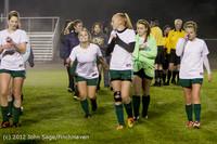 0127 VHS Girls Soccer Seniors Night 2012 102512